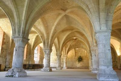 L'abbaye de Vaucelles. Les-Rues des-Vignes.