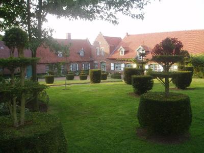 Le jardin du Mont des Récollets présente divers paysages d'inspiration flamande
