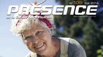 Couverture du magazine Présence de la Carsat Nord-Picardie